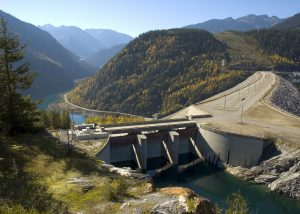 BC HYDRO Mica Dam avalanche mitigation project
