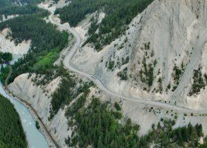 Kicking Horse Canyon Project: Snow Avalanche Hazard Mitigation