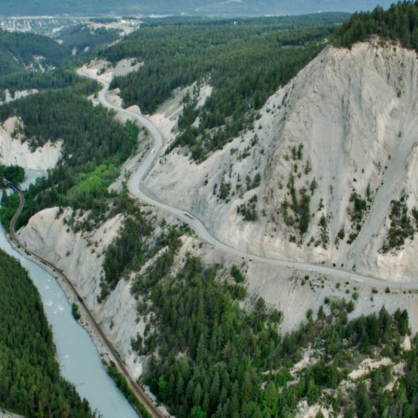 Kicking Horse Canyon Project: Snow Avalanche Hazard Mitigation